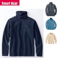[Cecile] Smart Heat, Fleece Turtleneck / Winter 2018 New Item, Men's Large Size