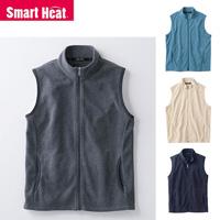 [Cecile] Smart Heat, Fleece Vest / Winter 2018 New Item, Men's Large Size