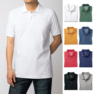 [cecile] Sweat-absorbing, Quick-drying Polo Shirt (Short Sleeves) / New Arrival Spring 2020, Mens