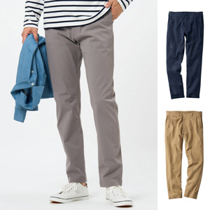 [Cecile] Stretchy Vintage-like Chino Pants / New Arrival Spring 2020, Mens, Large Sizes