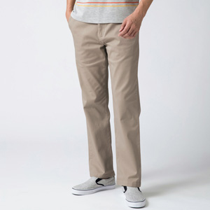 [Cecile] Stretch Chino Pants (Tuckless) Beige / New Arrival Spring 2020, Mens, Large Sizes