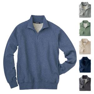 [cecile] Antibacterial Deodorant, 100% Cotton Sweatshirt Half Zip / New Arrival Spring 2020, Mens