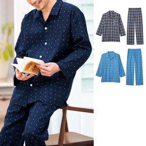[cecile] Shirt Pajamas, Viera (Unisex) / New Arrival Spring 2020, Mens, Large Sizes