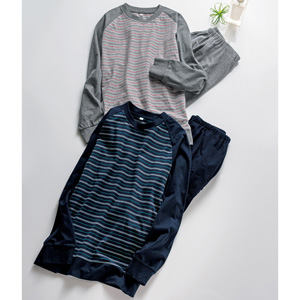 [cecile] 100% Cotton T-type Pajamas (Unisex) /New 2021 spring-summer item, Mens, Large size