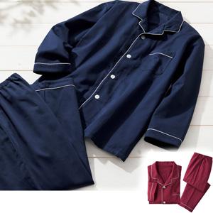 [cecile] Satin Shirt Pajamas (Unisex) /2021 new spring item, mens,large size