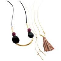 [Cecile] Necklace / Fall & Winter 2018 New Item, Plus Size, Plump