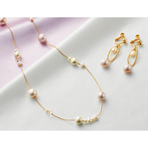 cecile gradation pearl accessory/New 2020 winter item,large size,plump