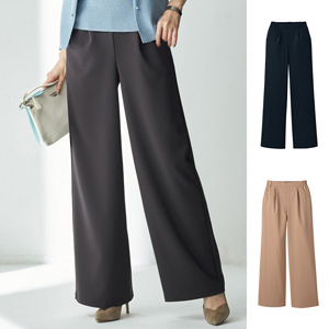 [Cecile] Wide Pants /New 2020 winter item, Mrs