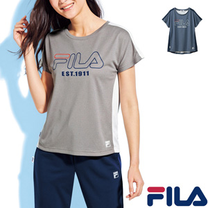 [cecile] Color Scheme T-Shirt (FILA) / New Arrival Spring 2020, Ladies