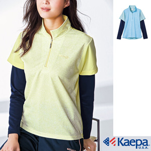 [cecile] Faux Layered T-Shirt (Kaepa) / New Arrival Spring 2020, Ladies