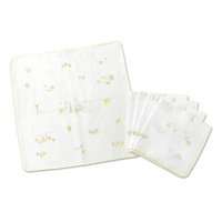 Think-B Handkerchief (5-Pack) Eiffel Tower Pattern [Made In Japan] [Home Goods]