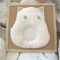 Think-B Baby Pillow, Organic Fabric, Animal Land Series [Made In Japan] [Home Goods]