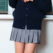 Teens' School Skirt (Gray)