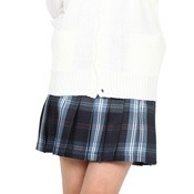 Teens' School Skirt (Navy/Blue)
