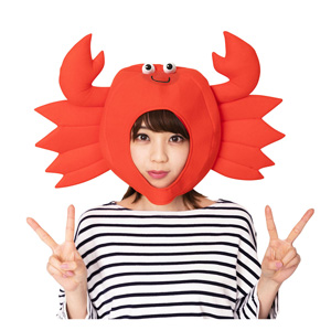 Kaburi-mon Crab Headgear / Cosplay Goods, Costume
