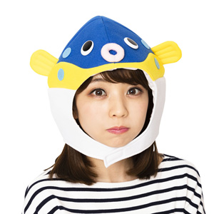 Kaburi-mon Puffer Fish Headgear / Cosplay Goods, Costume