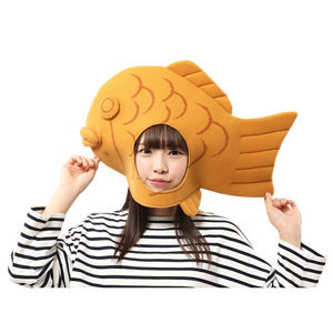 Kaburi-mon Taiyaki Fish Headgear / Cosplay Goods, Costume