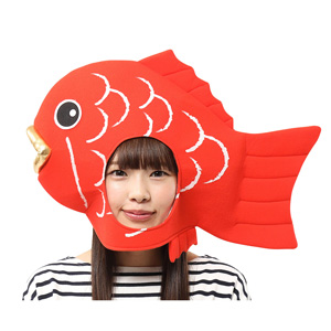 Kaburi-mon Madai Tai Fish Headgear / Cosplay Goods, Costume