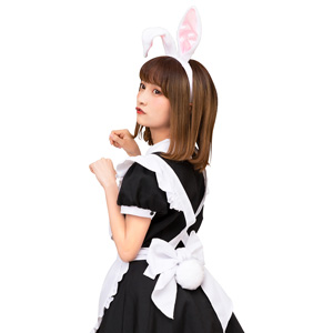 Kemonomimi Ears and Tail Set White Rabbit / Cosplay Goods, Costume