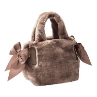 [IMAGE] Tote Bag w/Bow / Fall & Winter 2018 New Item, Ladies'