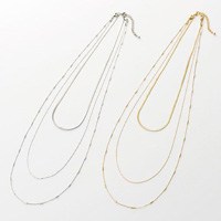 [IMAGE] 3WAY Necklace / Fall & Winter 2018 New Item, Ladies'