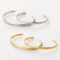 [IMAGE] Matte Plated Bracelet Set / Fall & Winter 2018 New Item, Ladies'