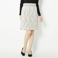 [IMAGE] Bonded Lace-Style Skirt / Winter 2018 New Item, Ladies'