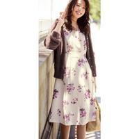 [IMAGE] Floral Pattern Print Dress / Winter 2018 New Item, Ladies'
