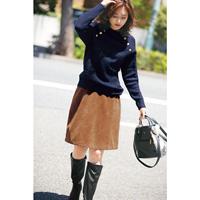 [IMAGE] Trapezoid Skirt / Winter 2018 New Item, Ladies'