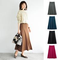 [IMAGE] Long Flared Skirt / 2018 Winter Lineup, Ladies