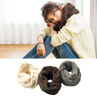 [IMAGE] Faux Fur Snood / Winter 2018 New Item, Ladies'