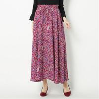 [IMAGE] Print Maxi-Skirt / Winter 2018 New Item, Ladies'
