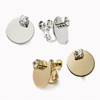 [IMAGE] Metal Earrings / Winter 2018 New Item, Ladies'