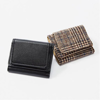 [IMAGE] Palm-Sized Mini Wallet / Winter 2018 New Item, Ladies'