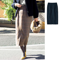 [IMAGE] High-waist, Long, Tight Skirt / New Arrival Winter 2018, Ladies