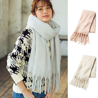 [IMAGE] Pastel Rope Fringe Scarf / New Arrival Winter 2018, Ladies