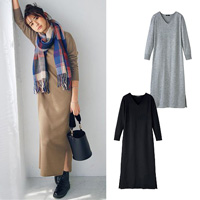[IMAGE] Knitted Long Dress / New Arrival Winter 2018, Ladies