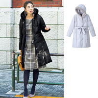 [IMAGE] Down Coat with Faux Fur / New Arrival Winter 2018, Ladies