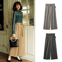 [IMAGE] Tucked Wide Pants / Midwinter 2018 New Item, Ladies