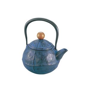 Nambu Ironware Iron Kettle Blue
