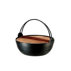 Nambu Ironware Round Cooking Pot 18㎝