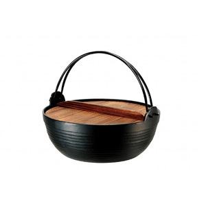 Nambu Ironware Round Cooking Pot 24㎝ (IH compatible)