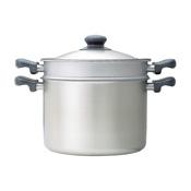 Sori Yanagi Stainless Steel Pasta Pan, 22cm