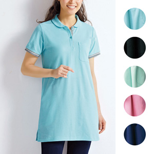 [cecile] Tunic Polo Shirt / New Arrival Spring 2020, Ladies