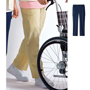 [cecile] Flexible Pants (for men) / New Arrival Spring 2020, Ladies