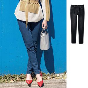 [GeeRA] Leg Stretch Skinny Denim Pants / New Arrival Autumn/Winter 2019, Ladies