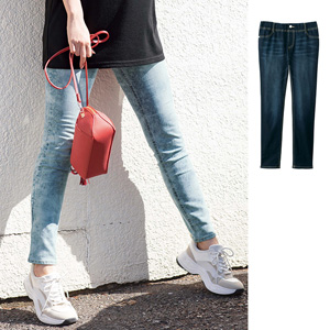 [GeeRA] Smooth Stretch Denim Leggings Pants for Beautiful Legs / New Arrival Autumn/Winter 2019