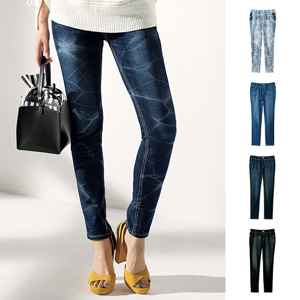 [GeeRA] Smooth Stretch Denim Leggings Pants for Beautiful Legs / 2020 Spring Lineup, Ladies