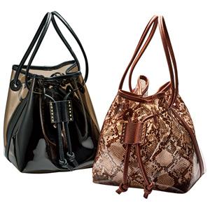 GeeRa drawstring set clear bag/2021 new spring item,ladies