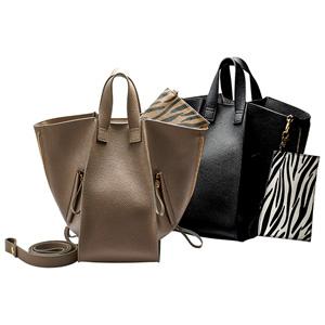 GeeRa 2 way variation shoulder bag with pouch/2021 new spring item,ladies